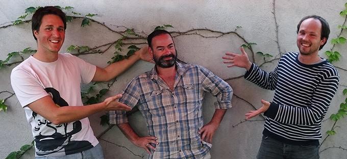 Simon, Mathieu & Bastian