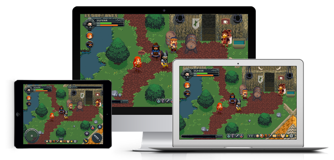 Steam will be our first release platform, but we have plans to release the game on both tablets and phones on iOS and Android.