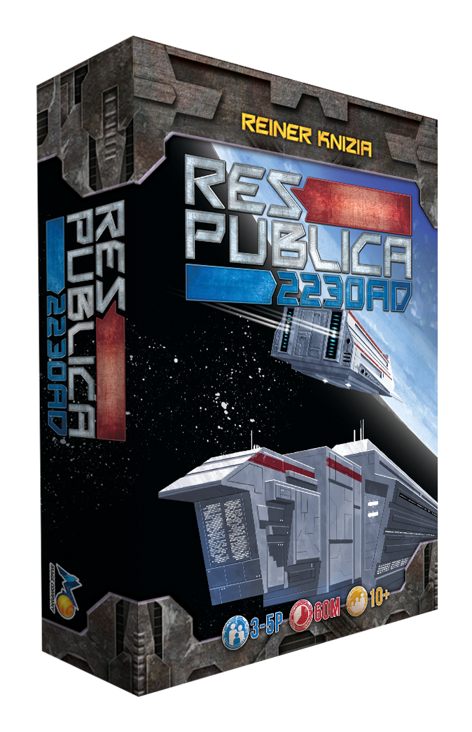 Res Publica: 2230AD heralds a time of expansion & development across the galaxy using set collection & intense trading among players.