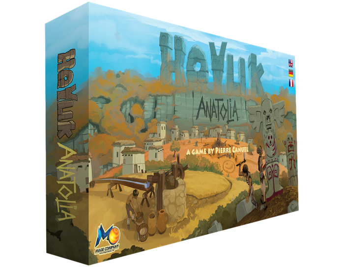 Hoyuk returns on Kickstarter with an expansion entitled Anatolia. Build the best village, grow the land, build artifacts and celebrate!