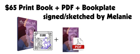 Co-editor Melanie Gillman will sketch & sign your bookplate!