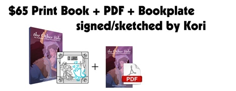 Co-editor Kori Michele will sketch & sign your bookplate!