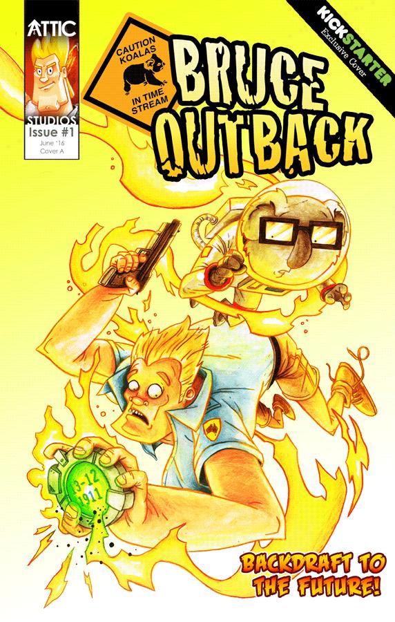 Kickstarter Exclusive cover by Dean Beattie