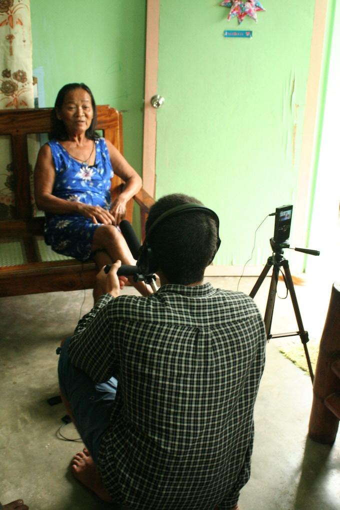 Interviewing Rosita Alavado, Sabtang