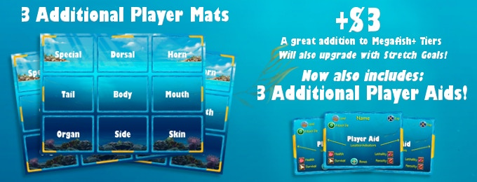 Additional Player Mats to aid 6-player games.