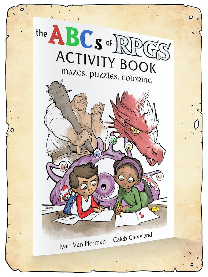 The Abcs Of Rpgs Books And Coloring For Adults And Kids