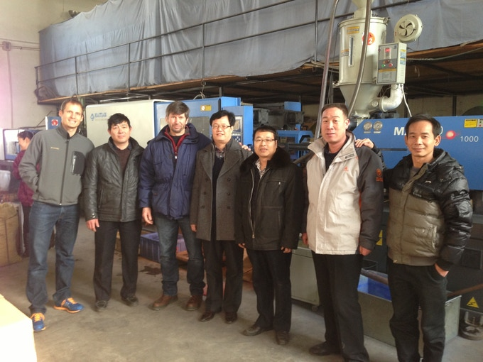 Meeting with our Chinese Manufacturing Team