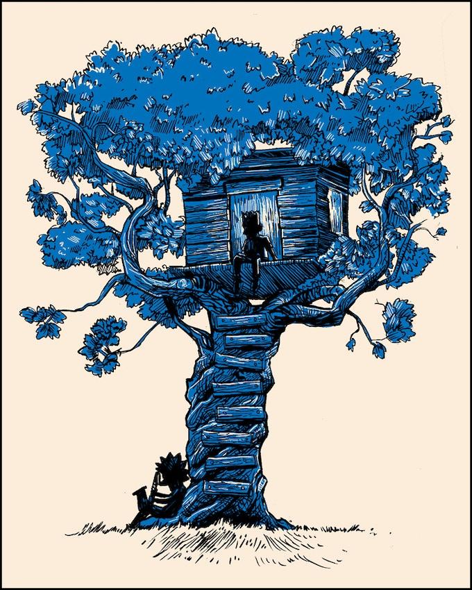 """Family Tree"" 8x10 Silkscreen print"