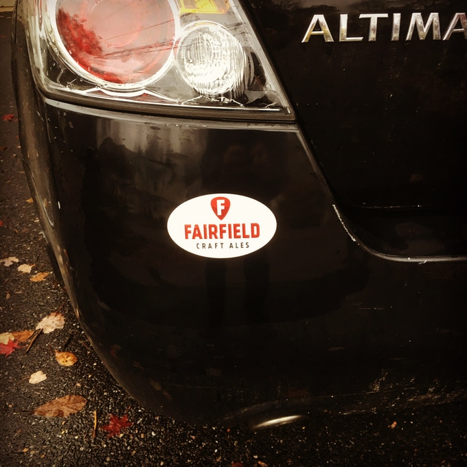 Sticker (car not included)