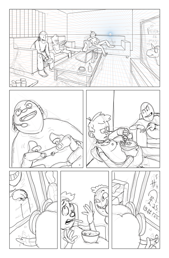 page 6 - first draft in production
