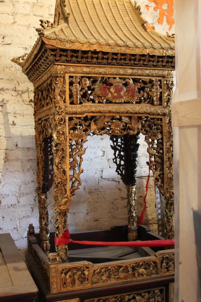 Hand Carved Wooden Altar