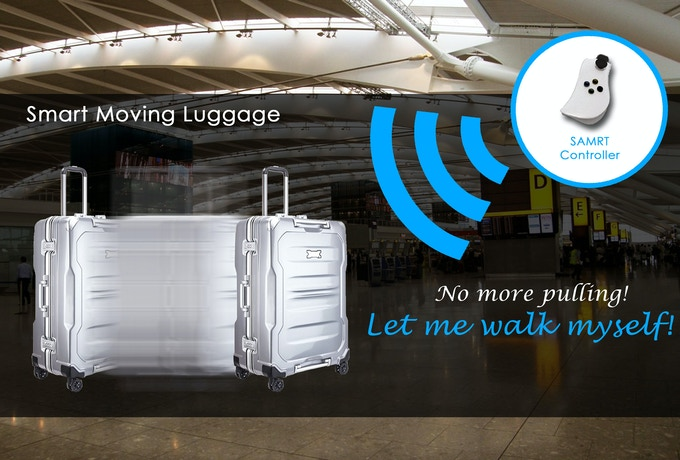 A.G. The Smart Moving Luggage