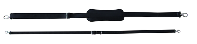 Skinny or wide shoulder strap