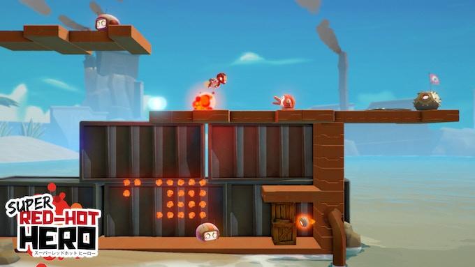 super red hot hero a side scrolling action platformer game by strangelight games kickstarter. Black Bedroom Furniture Sets. Home Design Ideas