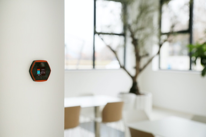 Hexiwear as a wall-mounted sensor
