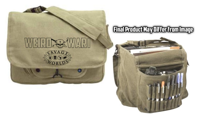 Look for this cool canvas bag in Add-Ons!