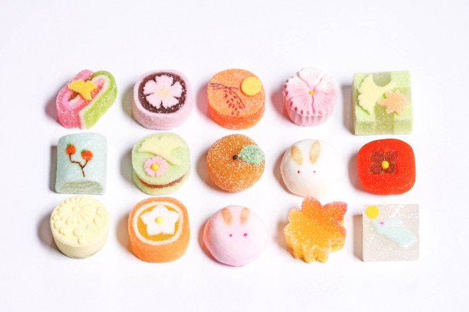 Cute Japanese sweets