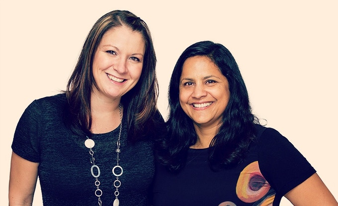 Eva & Jaya - Creators of Svaha STEAM Angels