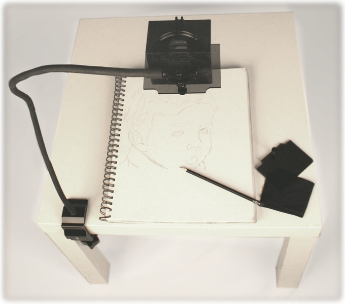 The LUCY Drawing Tool: Most Versatile Camera Lucida Ever by
