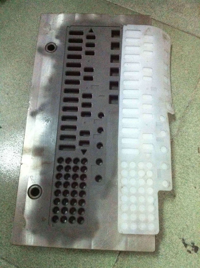 1st Prototype silicon keypad fresh out of its mold