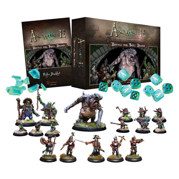 'ArcWorlde - Battle for Troll Bridge' Starter Box