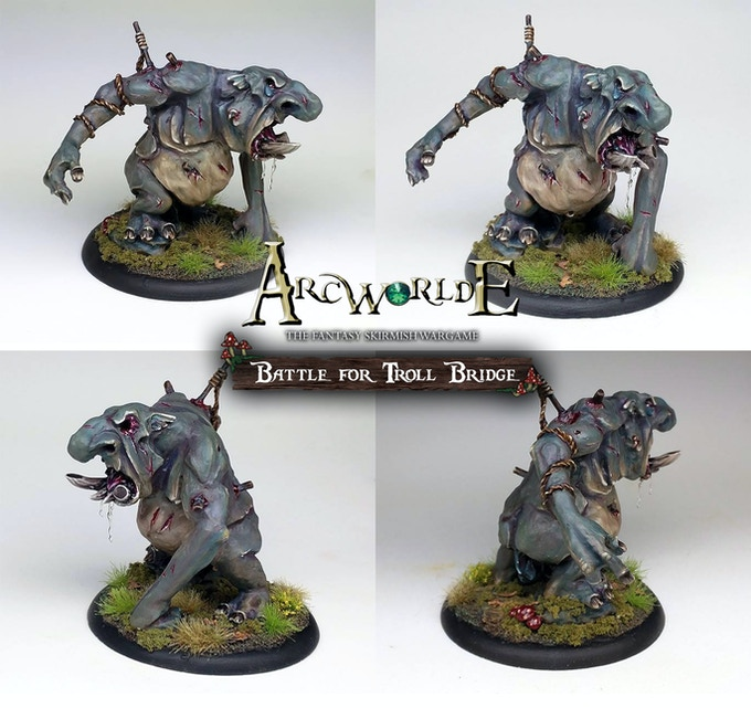 Old Grogg - painted by Joe Karame