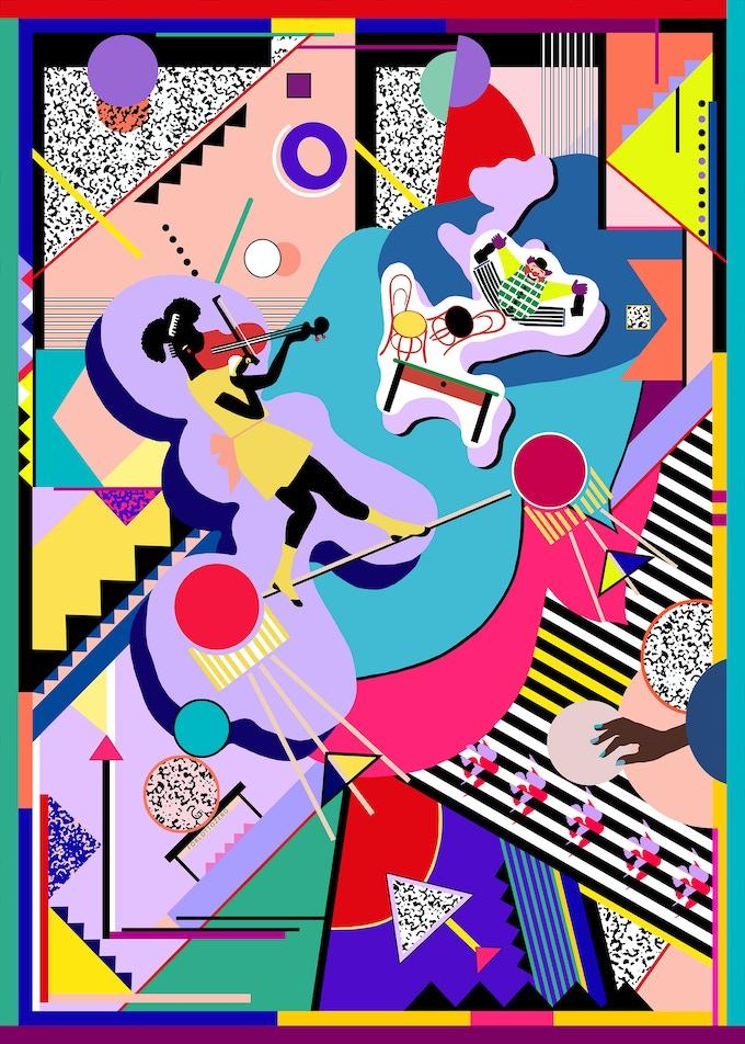 Spettacolo per Lottozero by Nadia Grechina