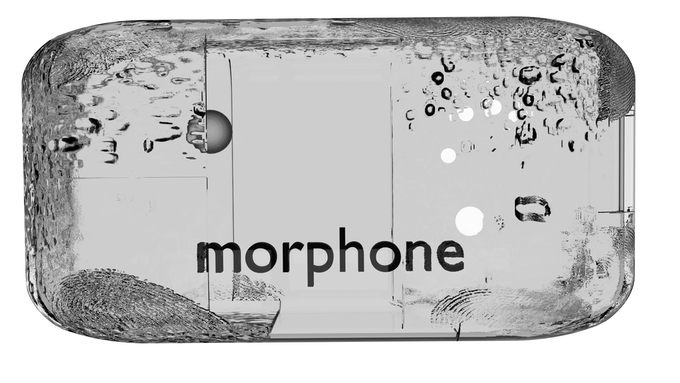 """A """"somorphone"""" one of the futuristic devices which feature in Kaharlyk."""