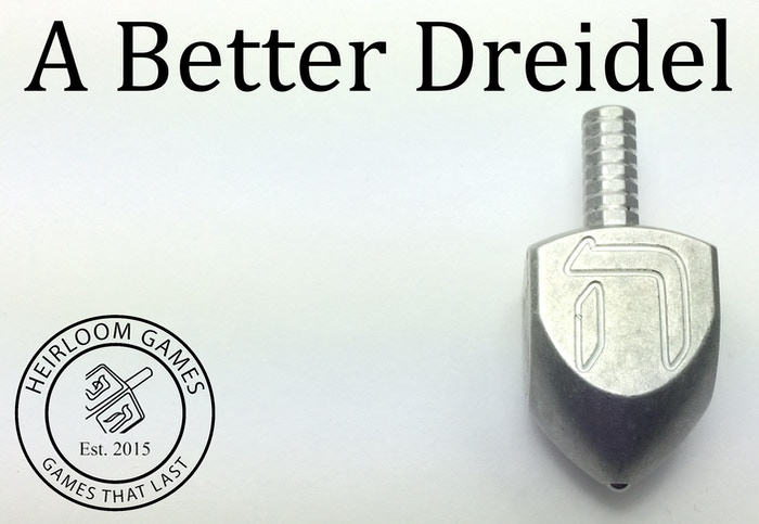 We set out to make a better Dreidel.  Why? To help everyone have fun and make real connections with real people. #abetterdreidel