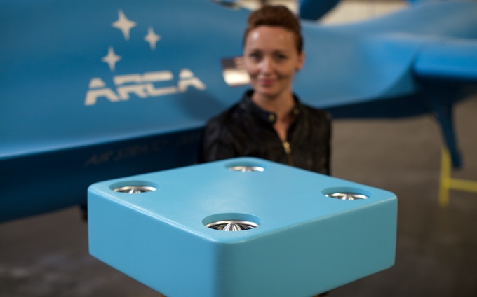 ArcaBoard Drone Kickstarter edition is available in three colors: beige, green and blue.