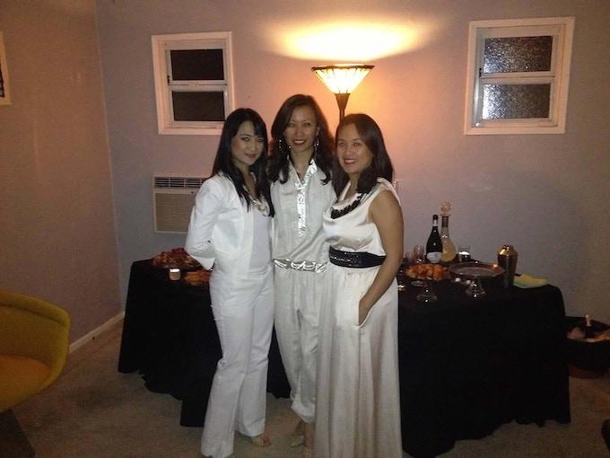 L to R: Christine, Patricia, Roselma
