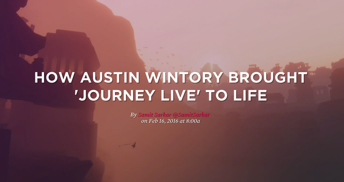 Journey LIVE featured on Polygon!
