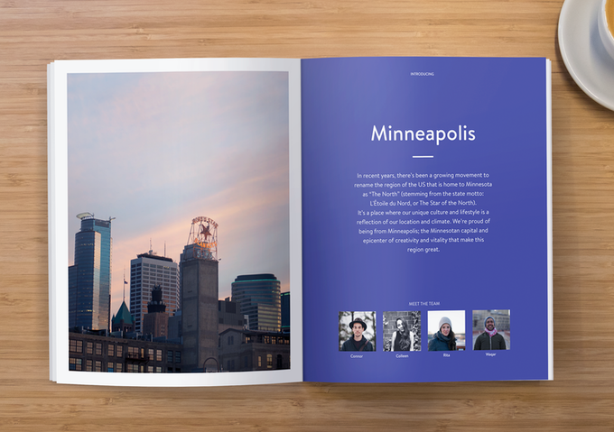 5 city chapters with 5 stories on city life & culture