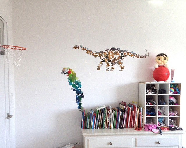 Durable and removable wall stickers