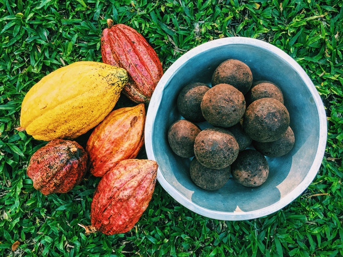 Cacao and Chocolate Balls in Baracoa, Cuba. By Asori Soto.