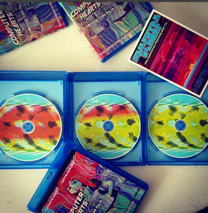 Our self-produced Computer Hearts Bluray!