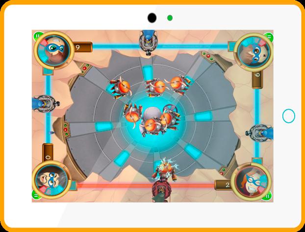 Panic Robot Board