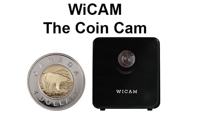 WiCAM, the wireless coin cam