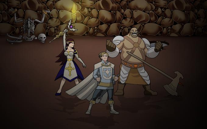 Legend of the Adventure Hero Party