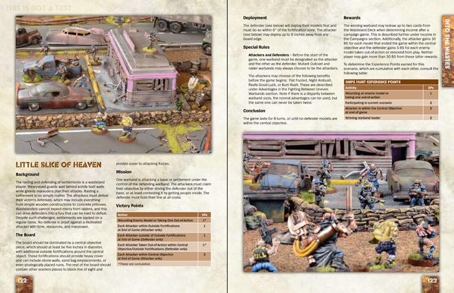 Sample Scenario Pages