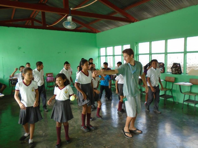 Teaching English through dance moves