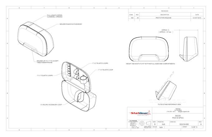 The DIEM 'Everyday' Duffel Bag & ANGLZ Media Case by