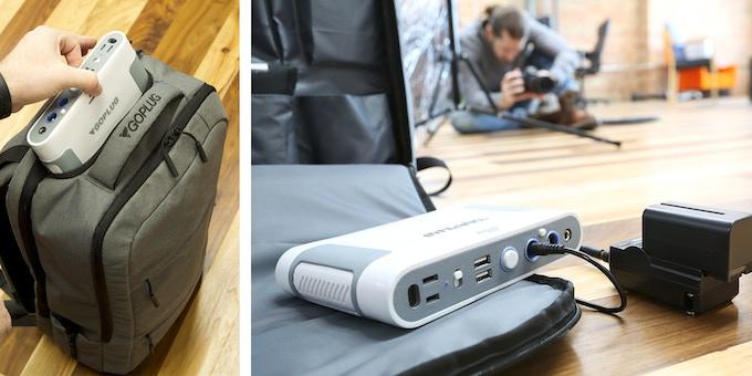 Goplug Smart Powered Backpack By Goplug Bags Kickstarter