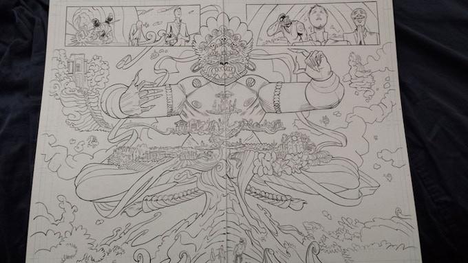 Karma Police original art (The Grove), by Tony Gregori