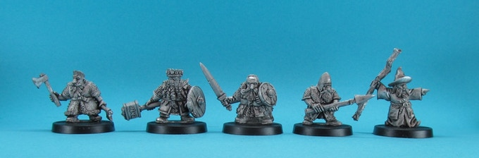 the first five dwarves