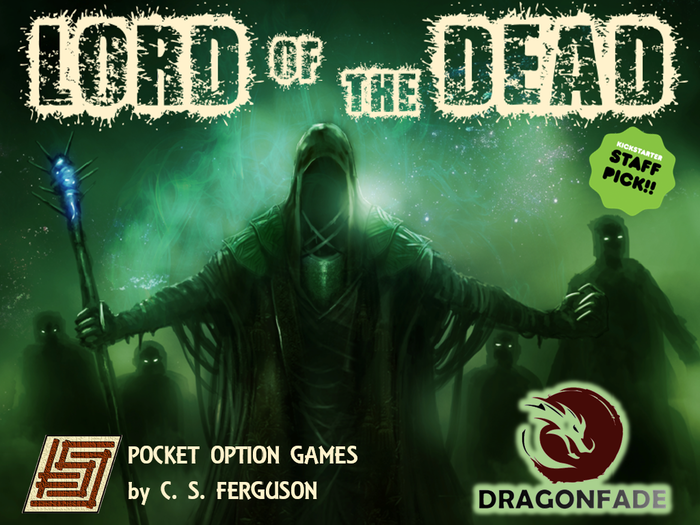 A dark and powerful LORD of the DEAD is attacking a town. If he enters the cemetery, he will raise a corpse-army. Mobs of townsfolk and the local garrison stand in his way.