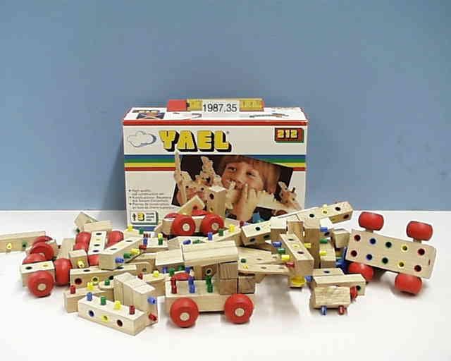 Original 80's Packaging displayed at the Nuremberg Toy Museum