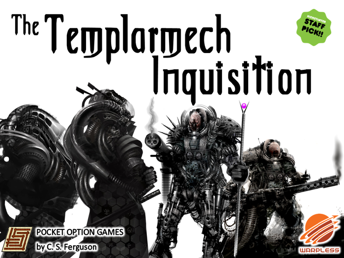 The Templarmech Inquisition has begun. The Cybersamurai stand defiant ... as do the Technovikings returning from their orbital space station Valhalla. Choose your actions wisely, for your opponent's actions occur simultaneously with yours.