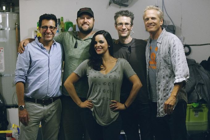 Beauty (Melissa Fumero) & the Beasts (Henry, Dan, Mark & Patrick)