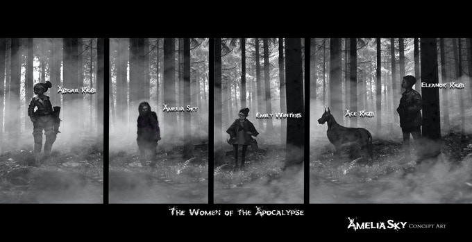 """THE WOMEN OF THE APOCALYPSE"" Concept by Mike Redman"